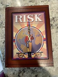Risk Vintage Game Collection Wood Box Limited Edition | Hasbro | 2009 | NEW.