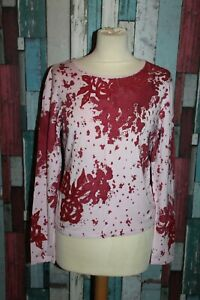 TEE SHIRT FEMME °°°  FINETTE °°° TAILLE 2 . BRODERIES
