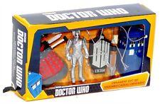 2015 Kurt Adler Doctor Who 5 Piece Mini Ornament Gift Set Dalek Cyberman Tardis!