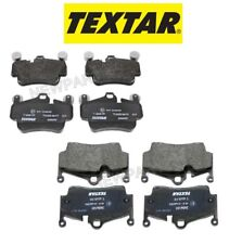 NEW Porsche Cayman 2.9L 2009-2012 Set of Front and Rear Disc Brake Pads TEXTAR