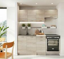 Küchenmöbel Reykjavik Einbauküche Küchenblock Küchenzeile Schrank Elegant M24