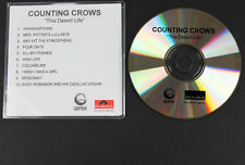 COUNTING CROWS This Desert Life CD-R album PROMO