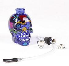 1pc top fashion punk ghost head skull style mini Smoking Tobacco Pipe