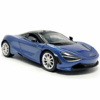 2019 McLaren 720S Supercar 1:32 Scale Model Car Diecast Toy Vehicle Blue Kids