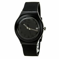 Swatch YGB4007 Black Effect Aluminium Watch
