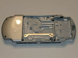 Sony PSP Playstation Portable 2001 Slim SILVER Replacement Bottom Plastic Casing