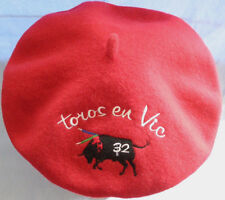 Toros en Vic French Hat  Bull No 32 Material Wool Taille 11