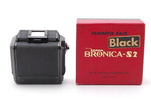 Zenza Bronica Roll Film Back Holder Black 6x6 For S2 Mint From JAPAN#267