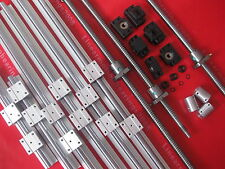 Anti-baclashed RM1610--1300 mm Ballscrew /& RM1610 ball Nut with End Machined