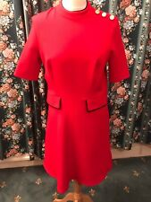 Marks And Spencer Red dress  12 Limited Edition Lolita Victorian Sailor Kawaii