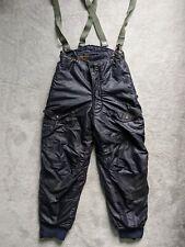 Vtg 50s Korean War USAF F-1A Blue Air Crew Flight Trousers Pants W30/W32 L29.5
