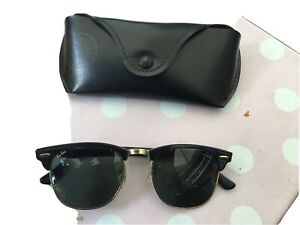 Coole Vintage Sonnenrille von Bausch & Lomb  Ray Ban U.S.A.  CLUBMASTER