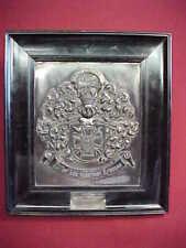Knights Cross Presentation Plaque ~ General Erich Von Falkenhayn ~ Excellent
