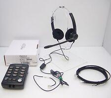 Plantronics Practica T110 Telephone Key Pad + Binaural Noise-canceling Headset