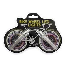Éclairage et réflecteurs argenté pour vélo
