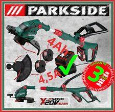 ✅ Parkside® PRTA 20-Li B2 4Ah Akku +LG4,5A Motorsense Freischneider Rasentrimmer