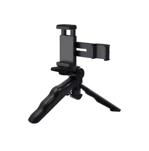 PULUZ PKT46 Smartphone Fixing Clamp 1/4 inch Holder Mount Bracket + Grip Folding