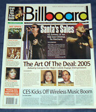 U2, Eminem, Jade MacRae, 3 Doors Down, Bright Eyes - January 8, 2005 Billboard