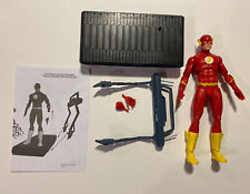 """DC Collectibles 2015 DC Icons 6"""" Figure The Flash Chain Lightning Complete"""