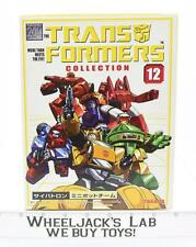 Minibots MISB New Takara Collection 12 Japanese G1 Transformers Action Figure