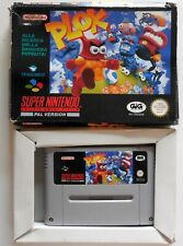 CARTRIDGE SUPER NINTENDO SNES PAL PLOK
