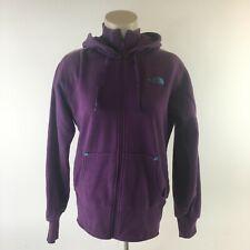 VTG The The North Face Hoodie Jacket Full Zip Transantarctica Purple Womens L