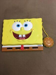 Spongebob Squarepants Vtech Laptop Talking Learning Game (Word/Math/Logic/Games)