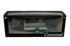 Remorque simple essieu | Tow car trailer - Cararama - 1/43ème - #251PND-TT-S