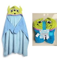 TOY STORY ALIENS Childrens HOODED THROW PRIMARK DISNEY BLANKET Ideal Gift