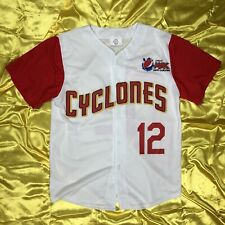 Brooklyn Cyclones Jersey NY Mets 12 Adult Size Small