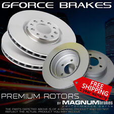 Front+Rear Rotors for (2003-2010) Cayenne w/Silver Calipers F350mm R330mm