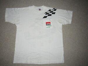 Vintage 1994 Al Unser Jr. Indianapolis 500 Men's Marlboro Racing Shirt Size XL