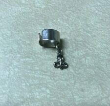 EAR CUFF - Cuff with Cobra Charm Goth Vintage 90's Rock and Roll Earring NOS