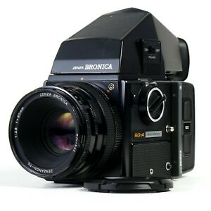 :Bronica SQ-A 6x6 Camera w/ PS 80mm f2.8 Lens + Metered Prism & 120 SQ-i Back