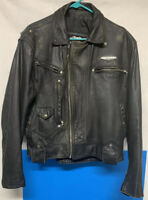 Vintage Harley Davidson Leather Jacket Medium Authentic Made In U.S.A