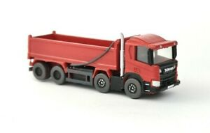 N Gauge 1:148 BCC A3D101 Modern 8 X 4 Tipper Truck Lorry (Red) Ready to plant
