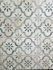 *SAMPLE* Matera Gris, Vintage, Aged, Worn, Pattern tiles, Encaustic, Porcelain