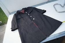 JULIUS LANG Damen Trachten Jacke Mantel Loden Bergloden Trenchcoat Gr.42 schwarz