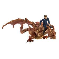 Thunder Dragon With Drake Set Fantasy Figure Safari Ltd NEW Toys Educational