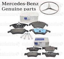 Genuine Mercedes-Benz E250 E350 E400 Front & Rear Brake Pad Set