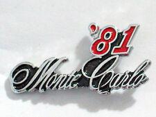 1981 Monte Carlo Pin , Auto Pin