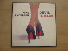 Mike Andersen – Devil Is Back  LP  2016  Vinyl  NEU + Sealed