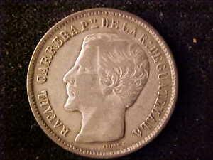 GUATEMALA ONE REAL 1863