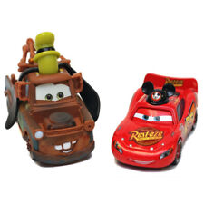 Cars Movie Toys Lightning Mickey Mcqueen & Goofy Mater MetalToy Car 1:55 Loose