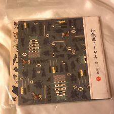 DAISO Traditional Japanese Paper Origami Samurai Ninjya 2 patterns 30 sheets F/S