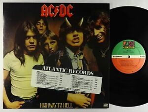 AC/DC - Highway To Hell LP - Atlantic VG++