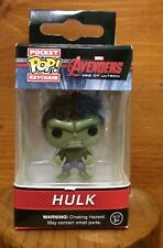 Funko Pocket Pop Keychain Marvel Avengers Age Of Ultron: Hulk Action Figure