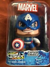 MARVEL MIGHTY MUGGS SPINNING HEAD ACTION CAPTAIN AMERICA #01