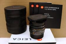 """Leica 11879 - Summicron M 1:2/35mm E39 asph 6-bit """"Lens 1a Zustand"""" - TOP!"""