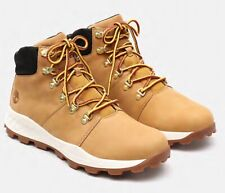Timberland Brooklyn Low Hiker Wheat Leather Men's Mid Boots Shoes UK 7 EU 41